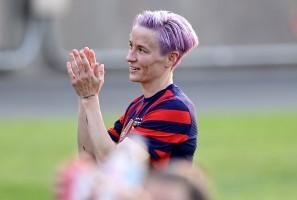 US-Kapitänin Megan Rapinoe zählt mit ihrem Team zu den Favoritinnen. © Getty Images
