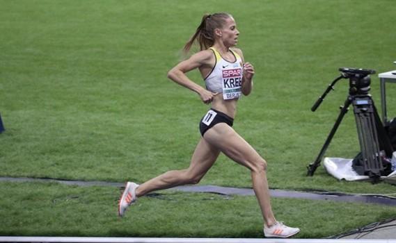 Denise Krebs läuft ihrem Traum von Olympia 2021 in Tokio entgegen. © Oliver Heuser