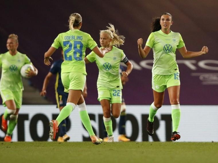 Wolfsburgerinnen mit guter Ausgangslage fürs Rückspiel