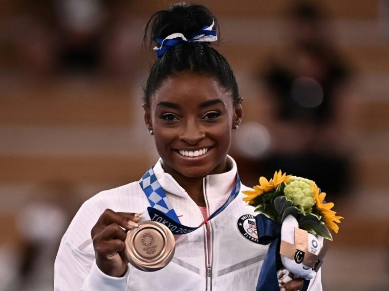 Simone Biles gewinnt Bronze am Schwebebalken