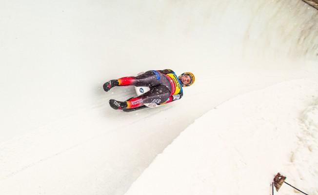 Natalie Geisenberger rodelt im Schneechaos zum Gesamtweltcup-Sieg. © FotoManLV
