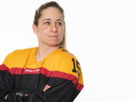 Redkordspielerin Andrea Lanzl wechselt zum ECDC Memmingen. © City-Press