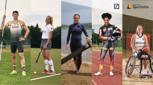 Das sind die Kandidat:innen zur Wahl der Sport-Stipendiat:in des Jahres. © Deutsche Sporthilfe
