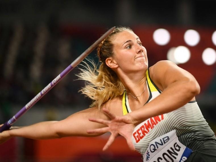 Christin Hussong erreicht knapp das Speerwurf-Finale