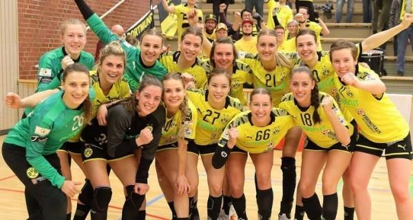 Die BVB Handball Damen waren Tabellenführer – werden aber nicht zum Meister ernannt. © BVB-Stummbillig
