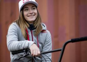 Lara Lessmann verpasst ihre dritte WM-Medaille. © BDR