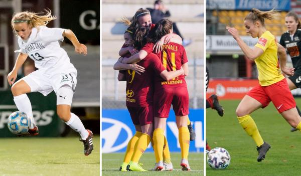 Jenny Bitzer ist durch den Fußball schon viel herumgekommen. © privat/Dr. Werner Scholz