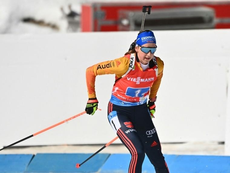 Franziska Preuß läuft in Nove Mesto auf Rang acht