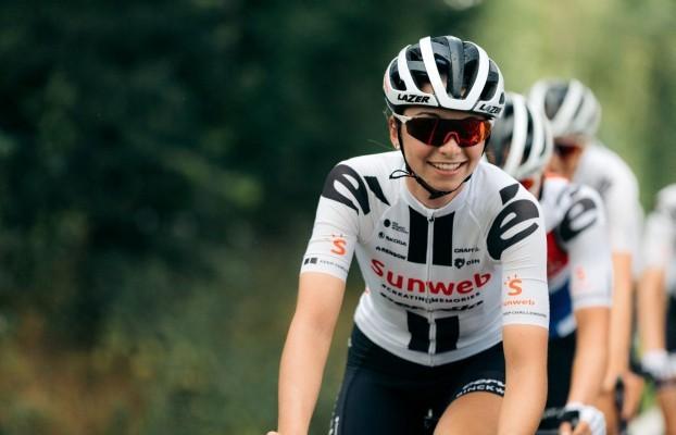 Liane Lippert vom Team Sunweb wurde beste Deutsche bei La Course 2020. © Team Sunweb   Patrick Brunt