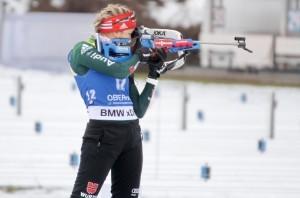 Franziska Preuß führt das Biathlon-WM-Team der Frauen an (Archivbild). © Christian Bier, CC BY-SA 3.0, https://commons.wikimedia.org/w/index.php?curid=65542489