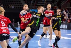m HBF-Supercup treffen Borussia Dortmund und die SG BBM Bietigheim aufeinander. © Handball Bundesliga Frauen (HBF)