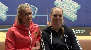 Karla Borger und Julia Sude wollen zu den Olympischen Spielen nach Tokio. © SID