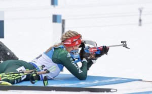 Franziska Preuß geht als deutsche Favoritin in die Biathlon-WM. © Christian Bier, CC BY-SA 3.0, https://commons.wikimedia.org/w/index.php?curid=65536074