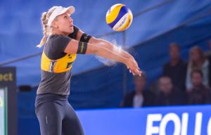 Spitzensportlerinnen wie Karla Borger wollen selbst ihr Outfit wählen. © Steffen Prößdorf, CC BY-SA 4.0, https://commons.wikimedia.org/w/index.php?curid=82023695