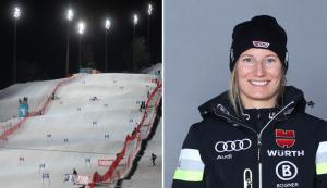 Lena Dürr startet beim Nachtslalom 2021 in Flachau. © AUDI FIS Ski Wltcup Flachau Doris Wild / DSV
