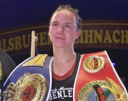 Sarah Bormann kämpft im Minimumgewicht um den Titel. © Petkos Boxing