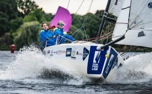 Das HSC Women Team segelte auch 2021 zum Sieg beim Helga Cup. © Helga Cup 2021/Lars Wehrmann