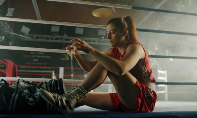 Boxerin Sarah Scheurich auf dem Weg zu Olympia. © Jendrik Wichels