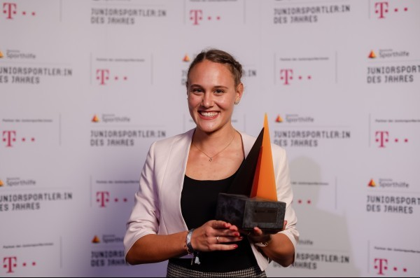 Sarah Vogel wird zur Juniorsportlerin des Jahres 2021 gewählt. © Deutsche Sporthilfe