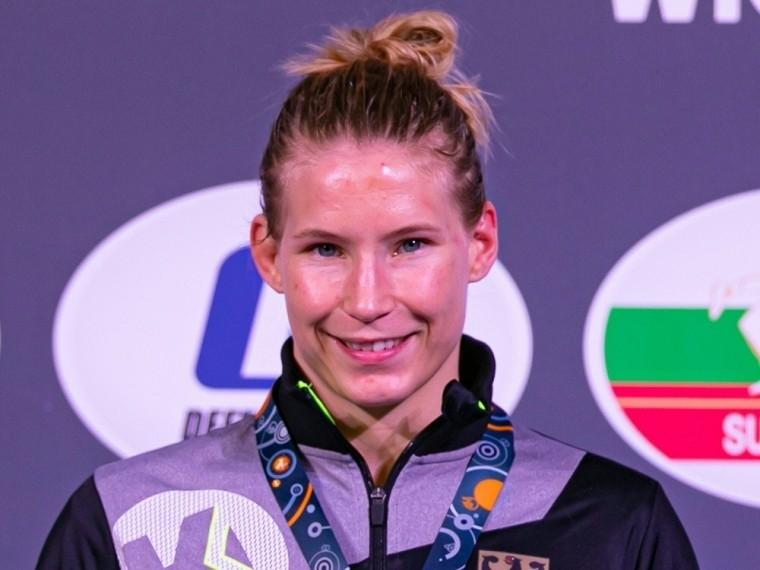 Aline Rotter-Focken holte Bronze