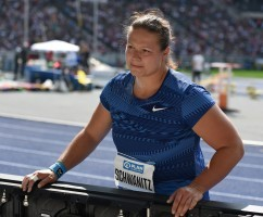 Christina Schwanitz soll eine EM-Medaille holen. © Martin Rulsch, CC BY-SA 4.0, https://commons.wikimedia.org/w/index.php?curid=82209811