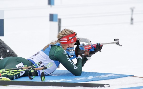 Franziska Preuß geht als deutsche Favoritin in die Biathlon-WM. © Christian Bier, CC BY-SA 3.0, https://commons.wikimedia.org/w/index.php?curid=65536074