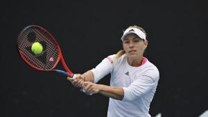 Angelique Kerber blickt positiv auf die Australian Open. © Porsche AG