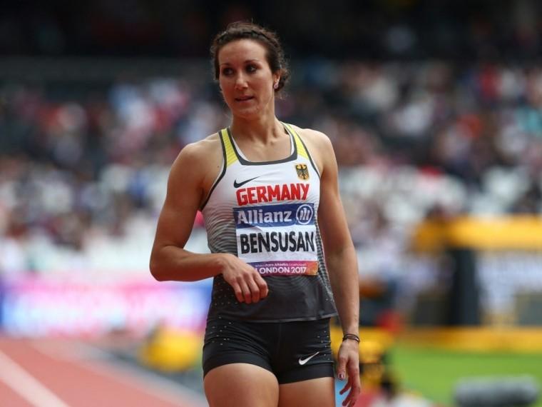 Para: Sprinterin Bensusan holt Silber im 200 m Sprint