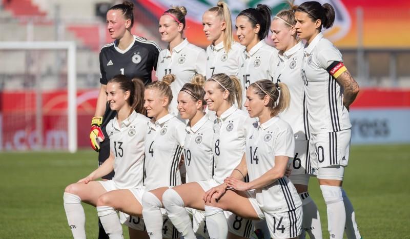 Spielen die DFB-Frauen 2027 die WM im eigenen Land? (Archivfoto 2018) © Steffen Prößdorf, CC BY-SA 4.0, https://commons.wikimedia.org/w/index.php?curid=68160334
