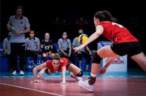 Nichts zu holen für die deutschen Volleyball Damen. © FIVB